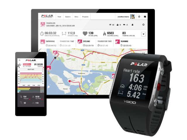 Polar V800 met GPS