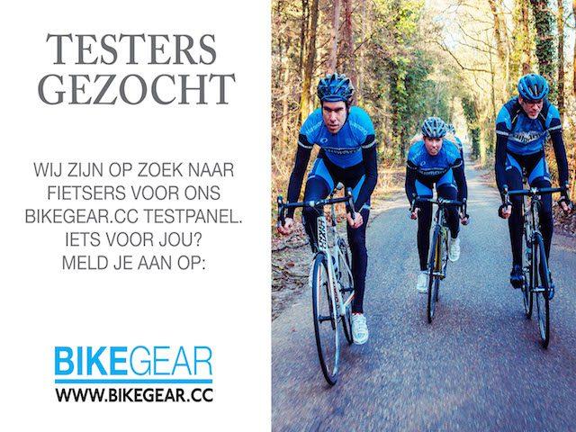 Bikegear cc start testpanel