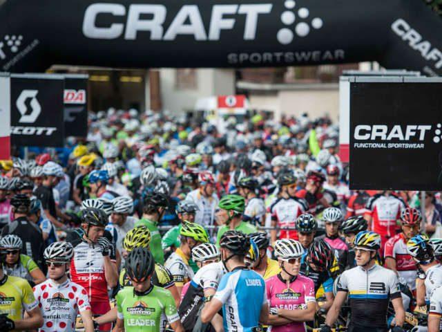 Duizend renners klaar voor 611 km Transalp