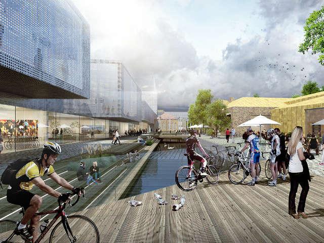 Shimano bouwt Experience Center op voormalig brouwerijterrein
