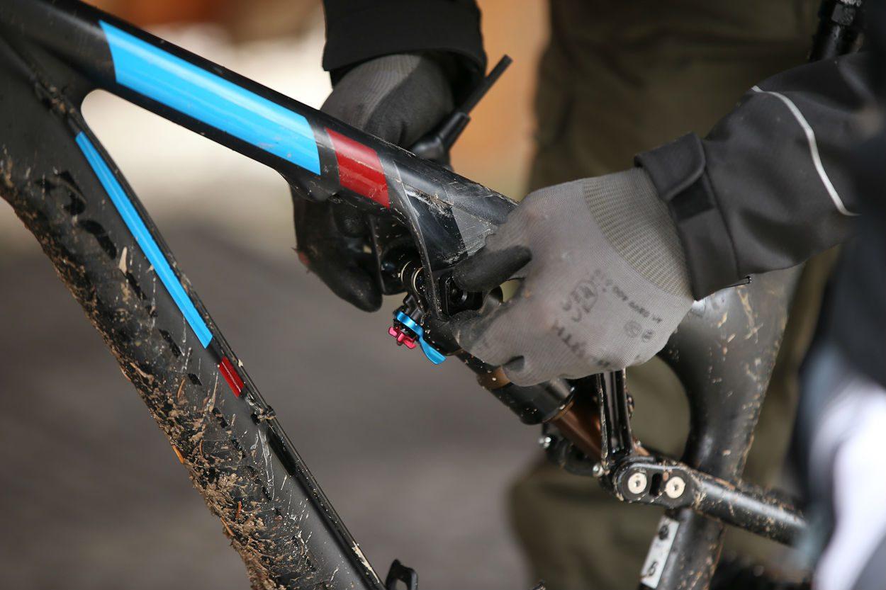 Ride-9 laat je de geometrie optimaliseren naar eigen gebruik