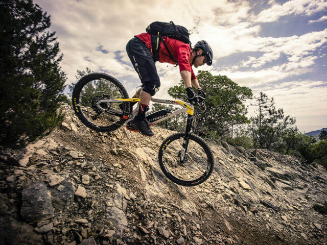 Sram aandrijflijn en remmen voor e-mountainbikes