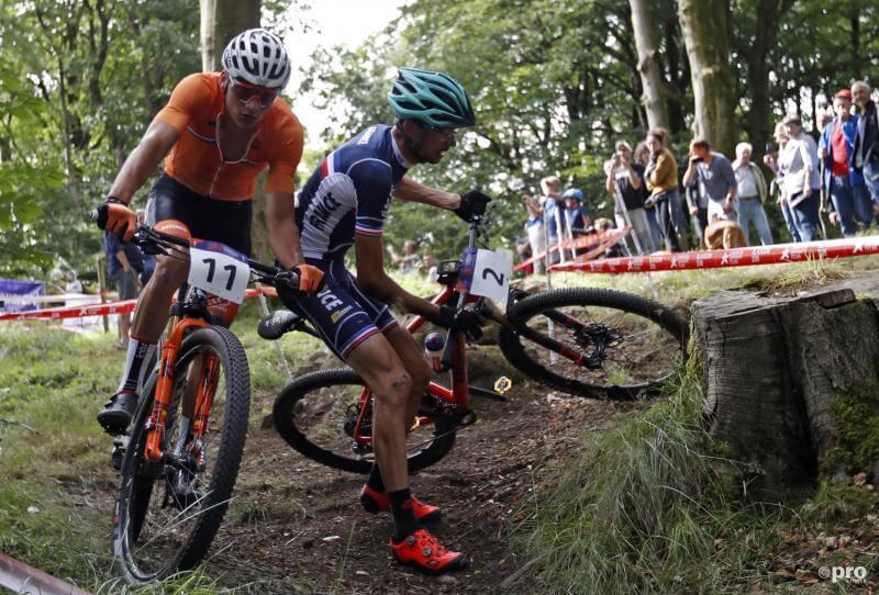 Lars Forster Europees kampioen bij de mannen. Van der Poel geeft op.