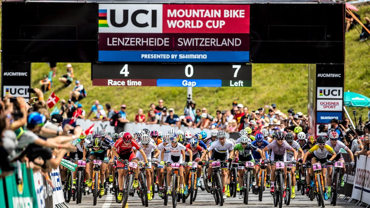 De UCI World Championships Mountain Bike zijn begonnen!