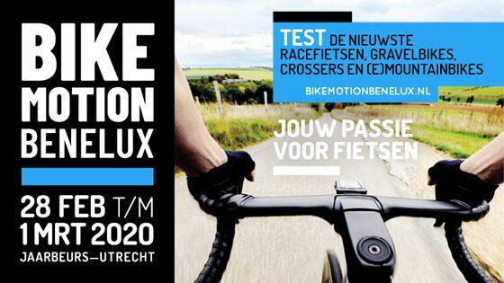 Bike MOTION BENELUX verschoven naar