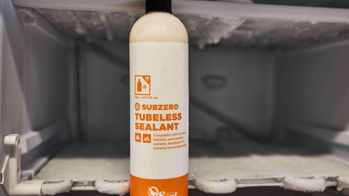 Orange Seal Subzero Tubeless Sealant