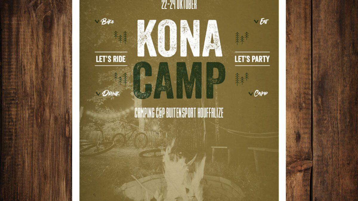Reizen –  22-24 oktober 2021 het eerste 'KONA CAMP'